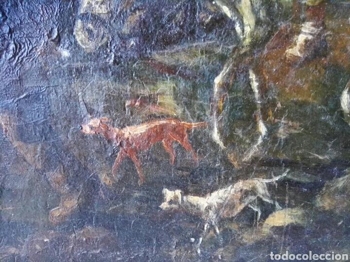 Arte: Espectacular Cuadro oleo sobre lienzo sin firma - Foto 13 - 117160592