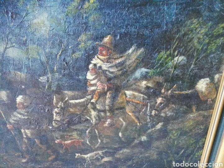 Arte: Espectacular Cuadro oleo sobre lienzo sin firma - Foto 14 - 117160592