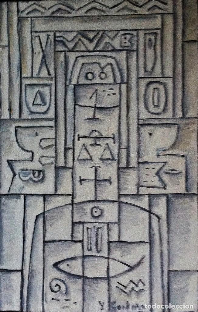GOYTIÑO,HÉCTOR YUYO. OLEO SOBRE TABLA. (Arte - Pintura - Pintura al Óleo Contemporánea )