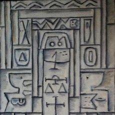 Arte: GOYTIÑO,HÉCTOR YUYO. OLEO SOBRE TABLA.. Lote 117579943