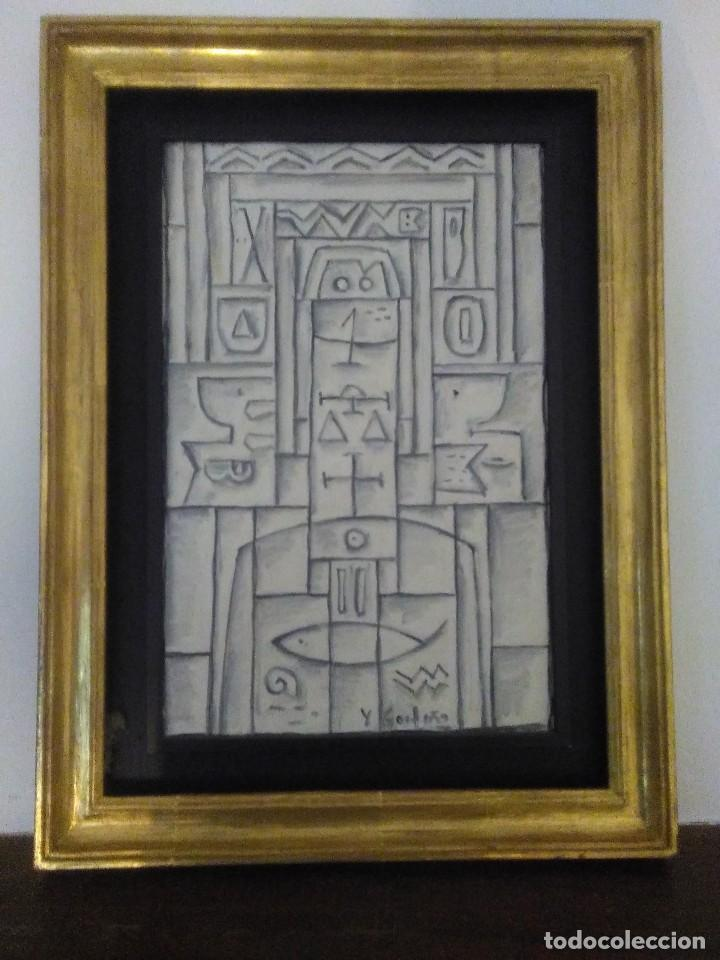 Arte: GOYTIÑO,Héctor Yuyo. Oleo sobre tabla. - Foto 2 - 117579943