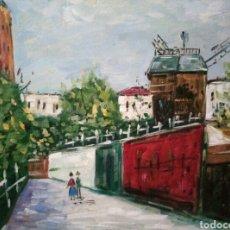 Arte: OLEO SOBRE LIENZO, FIRMADO. Lote 117671724