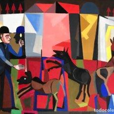 Arte: OLEO SOBRE TELA - 1976 - JOSEP MARIA GARCÍA LLORT - FIRMADO. Lote 117746803