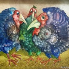 Arte: S. J. SUDER, PRECIOSA Y RARA PINTURA ORIGINAL FIRMADA.. Lote 117797574