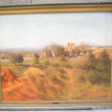 Arte: JOAN COLOM (1879-1969), PAISAJE, ÓLEO SOBRE LIENZO. 105X86CM. Lote 117811763