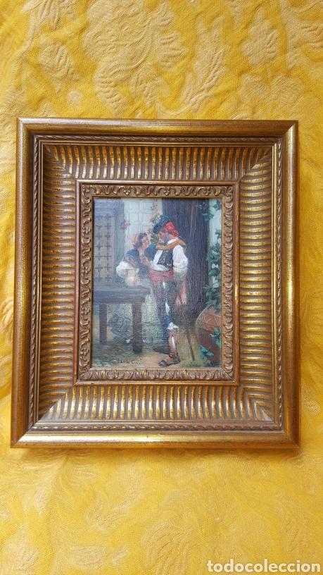 BONITA PINTURA SOBRE LIENZO (Arte - Pintura - Pintura al Óleo Contemporánea )