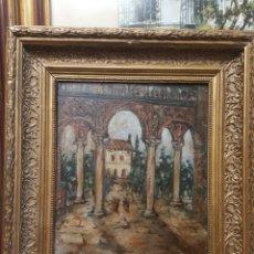 Kunst - Arcos arabes oleo sobre tabla de caoba - 117840783