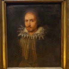 Arte: GRAN OBRA DE ARTE DEL SIGLO XVI, CIRCULO DE MONTEMEZZANO, RETRATO DE UN CABALLERO, PINTURA AL OLEO. Lote 117851647
