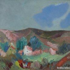 Arte: JOSÉ FRAU (VIGO 1898 - MADRID 1976) PAISAJE.. Lote 117924603