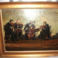 Arte: CUARTETO MUSICOS, AUTOR DESCONOCIDO . Lote 117957203