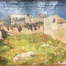 Arte: JOSÉ DE LARROCHA GONZÁLEZ (C.1850-1933) PINTOR ESPAÑOL - ÓLEO SOBRE TELA. Lote 117958091
