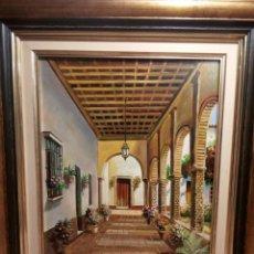 Arte: LOTE DE DOS CUADROS (OLEOS JOSÉ RETAMERO). Lote 118041667