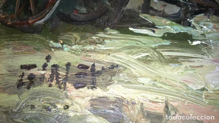 Arte: Escena campestre 43x37 autor Giner ORIGINAL / TABLEX - Foto 3 - 118056179