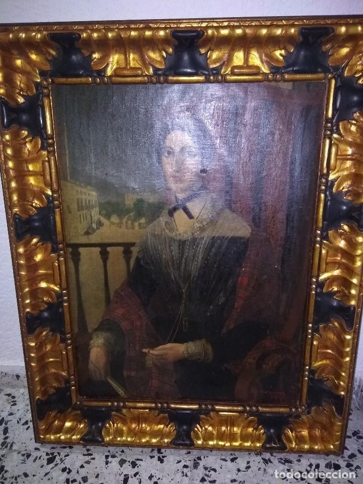 PRECIOSA OBRA DE BUENA CALIDAD FIRMADO MARIA WIHELMINA WANDSCHEER (Arte - Pintura - Pintura al Óleo Antigua siglo XVIII)