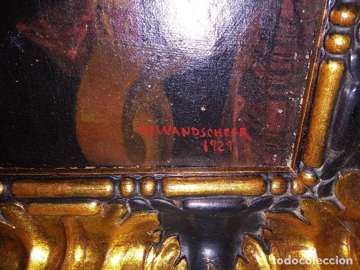 Arte: Preciosa obra de buena calidad firmado maria wihelmina wandscheer - Foto 5 - 118102499
