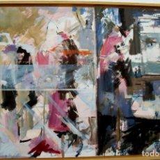 Arte: EMILIO MORALES NACIDO EN CUENCA OBRA AÑO 2004 OLEO/LIENZO MEDIDAS110 X 83 CM. Lote 118197103