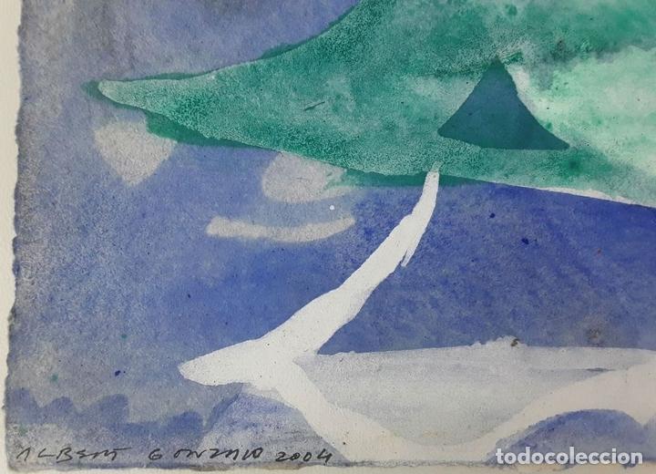 Arte: RAGAMALA. TÉCNICA MIXTA SOBRE CARTULINA. A. GONZALO CARBÓ. 2004. - Foto 2 - 118242187