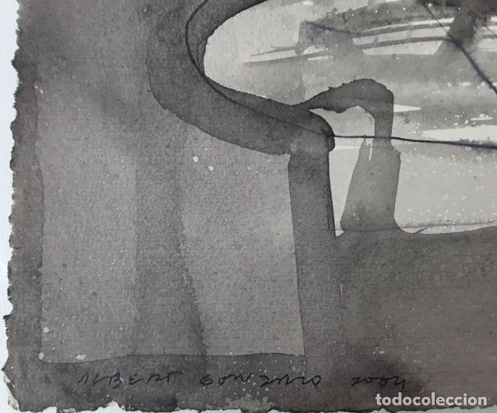 Arte: TARA. TÉCNICA MIXTA SOBRE CARTULINA. A. GONZALO CARBÓ. 2004. - Foto 2 - 118249571