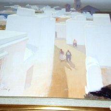 Arte: ARCOS DE LA FRONTERA, OLEO DE TOSAR GRANADOS. Lote 118252091