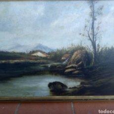 Arte: ÓLEO SOBRE TELA FIRMADO RAMON MARTÍ ALSINA. Lote 118285376