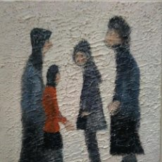 Arte: PINTURA DE L. S. LOWRY (1887/1976) ATTRIBUTED. 2 PICTURES.. Lote 118409215