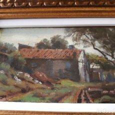 Arte: TOMÁS VIVER AYMERICH (TERRASSA 1876 - 1951) OLEO. Lote 118534255