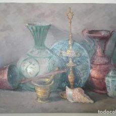 Arte: OLEO BODEGON FRANCISCO ARNEDO LINARES.. Lote 118552279