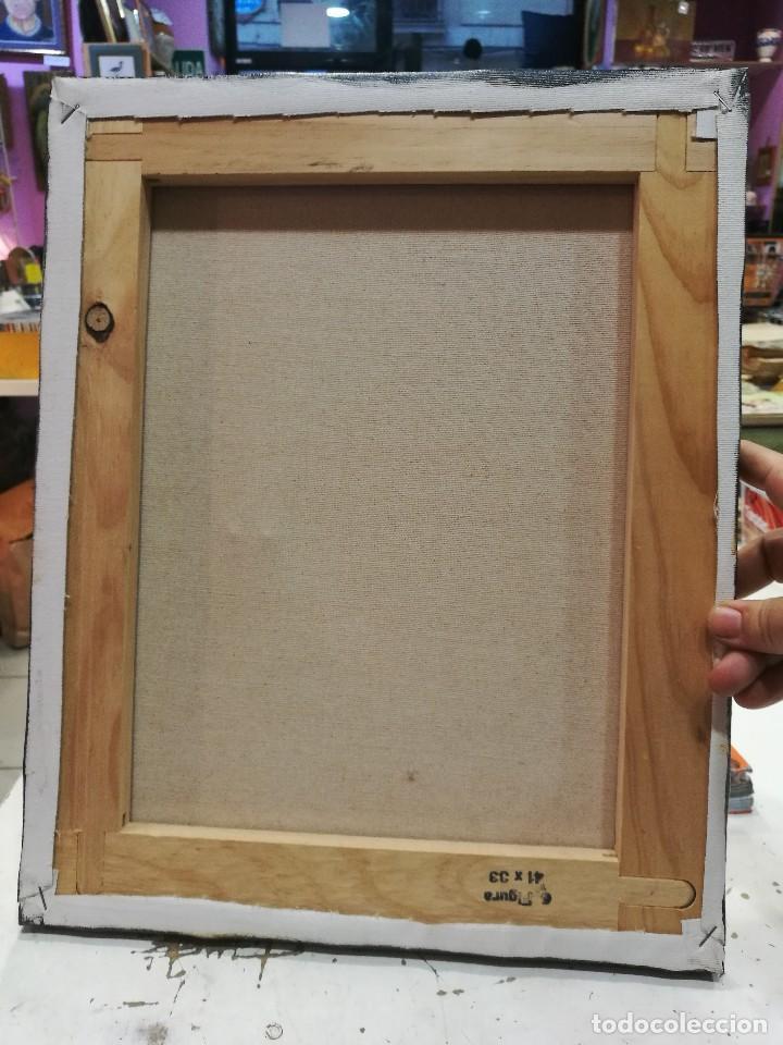 Arte: Oleo sobre lienzo de bodegon de manzanas firmado isabel garcia 07 - Foto 7 - 118582411