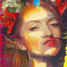 Arte: PINTURA EN TÉCNICA MIXTA CONTEMPORÁNEA CON CERTIFICADO DE AUTENTICIDAD. Lote 118586039