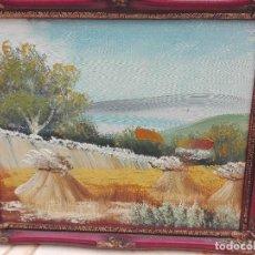 Arte: PAISAJE ARTÍSTICO MEDIDAS 28X24. Lote 118606987