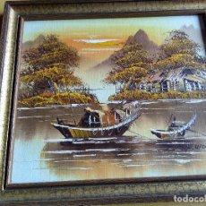 Arte: OLEO SOBRE TABLA . Lote 118611499