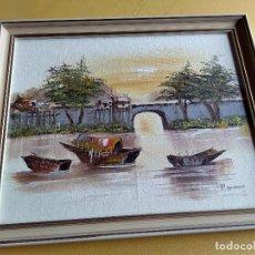 Arte: OLEO SOBRE TABLA. Lote 118612139