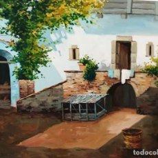 Arte: PATIO ANDALUZ POR TRILLO. Lote 118674275