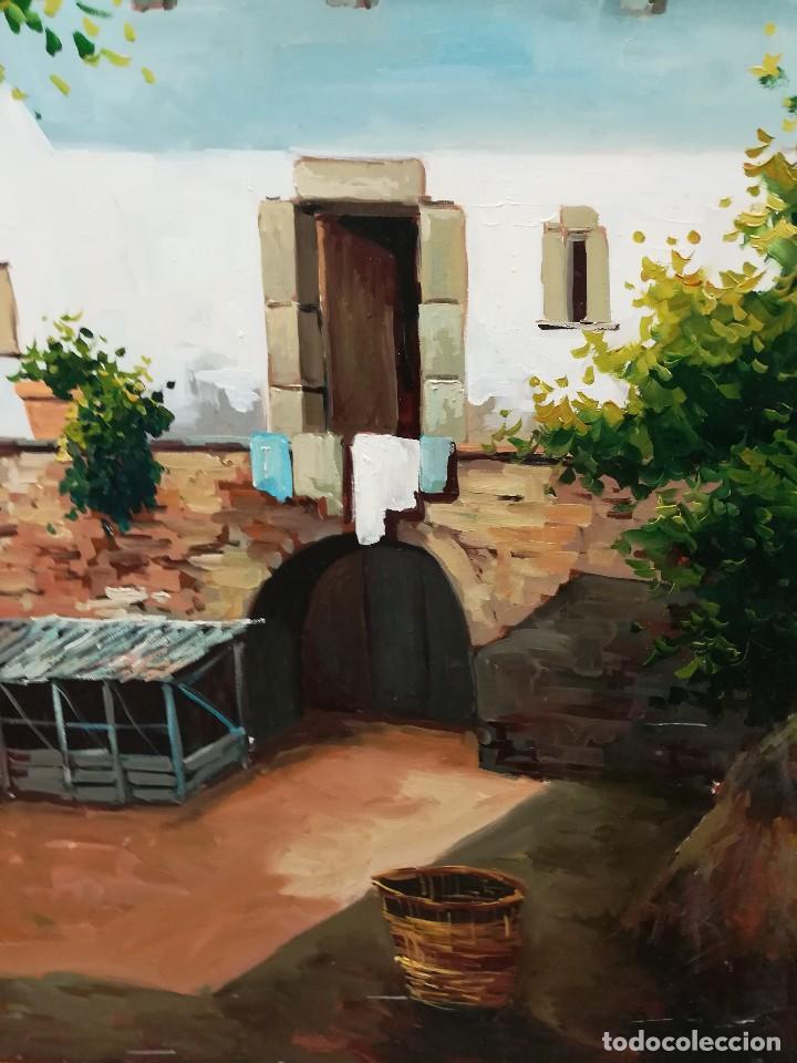 Patio andaluz por trillo comprar pintura al leo - Fotos patio andaluz ...