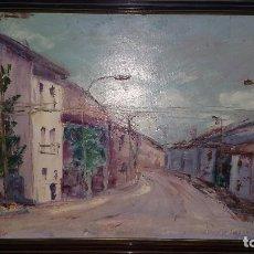 Arte: ESPECTACULAR PINTURA ÓLEO SOBRE LIENZO DEL PINTOR RICARDO SIERRA. Lote 118704111