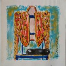 Arte: PACHI GALLARDO - OBRA CERTIFICADA - LA SILLA - 1999. Lote 118715183