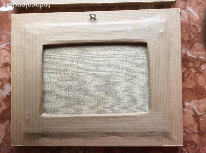 Arte: Paisajes antiguos lienzo 21cmx15,5cm óleos. - Foto 4 - 118708843