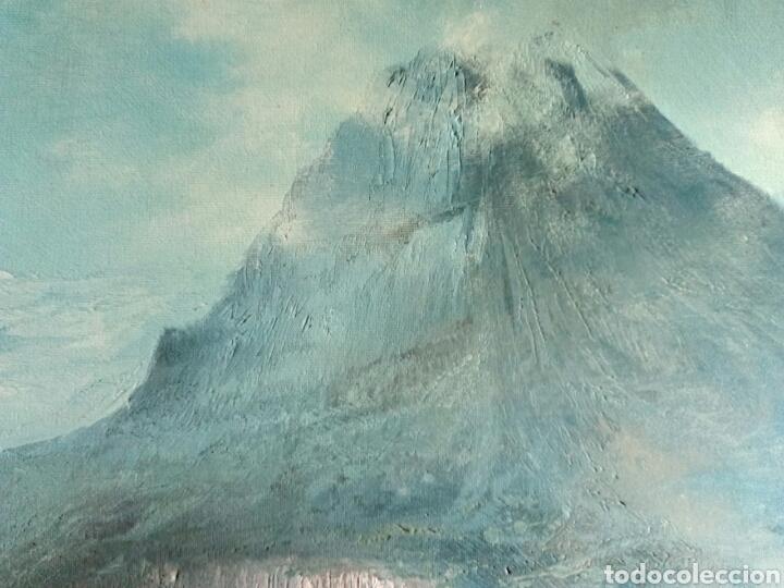 Arte: ANTIGUO PAISAJE, PRECIOSO, 112/85, Oleo en lienzo - Foto 3 - 118746611