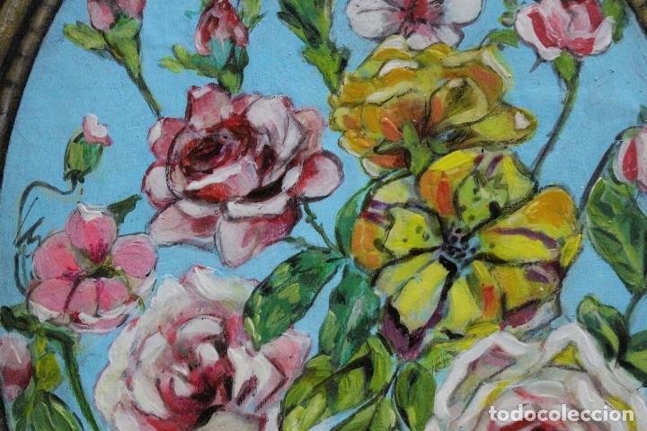 Arte: /Somete el oído al silencio de las flores/ Pintura sobre Partituras de música antiguas y lino. - Foto 17 - 118898363