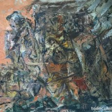 Arte: MARIANO CORRAL LIBANO (1926-2009). Lote 118995699