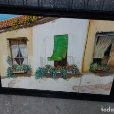 Arte: CUADRO DE OLEO SOBRE TABLA. Lote 119019263