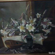 Arte: CUADRO DE OLEO SOBRE LIENZO FALTA ESTUDIAR PINTOR. Lote 119019599