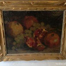 Arte: ESCUELA CATALANA, BODEGON, FIRMA ILEGIBLE.. Lote 119024595