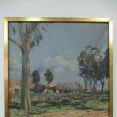 Arte: ÓLEO SOBRE TELA - PAISAJE, SABADELL 1942 - FIRMA FIDEL TRIAS PAGES (SABADELL 1918 - 1971). Lote 119062983