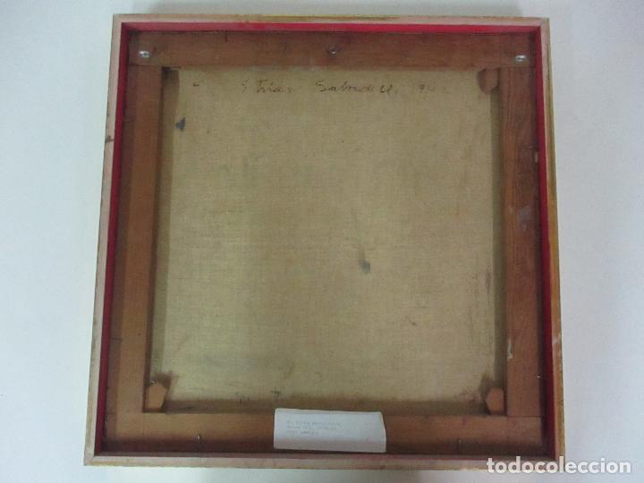 Arte: Óleo sobre Tela - Paisaje, Sabadell 1942 - Firma Fidel Trias Pages (Sabadell 1918 - 1971) - Foto 8 - 119062983