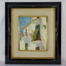 Arte: OLEO TABLEX J MALLOL 1927. Lote 119082511