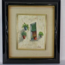 Arte: OLEO TABLEX J MALLOL 1927. Lote 119082619