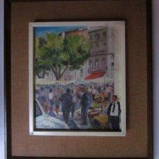 Arte: DANES BERGA - OLEO COSTUMBRISTA. Lote 119202707