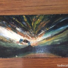 Arte: OLEO SOBRE TABLA-FIRMADO.. Lote 119425880