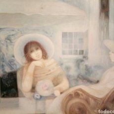 Arte: CHICAS AL SOL, 60/50, OLEO SOBRE LIENZO. Lote 119482971